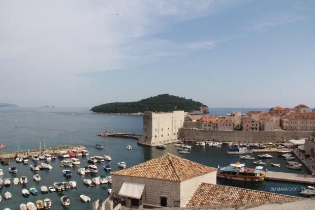 El puerto de Dubrovnik