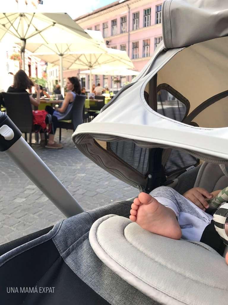 Siesta de verano en Ljubljana